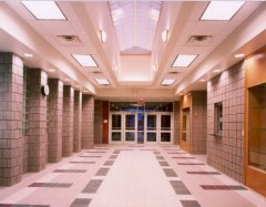 School Auditorium Atrium