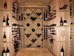 Wine cellar collection by the case