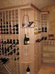 Wine display area