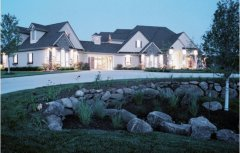 Exterior residential lighting