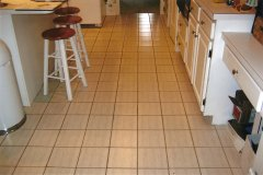 Kitchen Floor Before