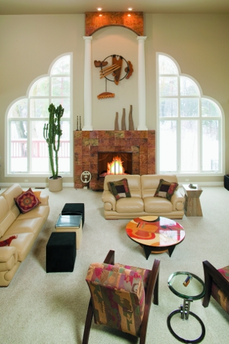 Great Room Published In House To Home Magazine
